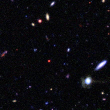 star with a nebula