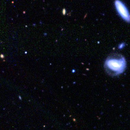 galaxy in a bubble